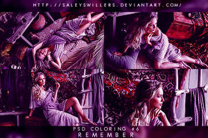 PSD COLORING #6 [REMEMBER] by irwinbae