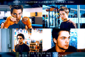 PSD COLORING #13 [DONT LET ME DOWN] by irwinbae