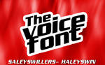 +The Voice Font