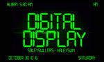 +Digital Display Font