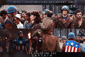 PSD COLORING #52 [CAPTAIN] by irwinbae