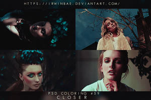 PSD COLORING #59 [CLOSER] by irwinbae