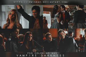 PSD COLORING #62 [VAMPIRE DARKNESS] by irwinbae