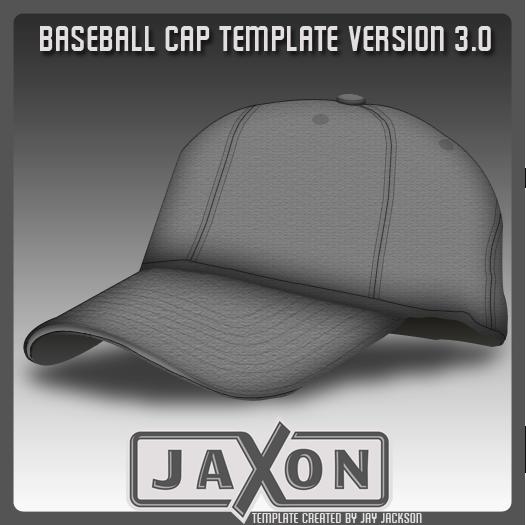 Baseball Cap Template UPDATE