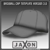 Baseball Cap Template UPDATE by JayJaxon