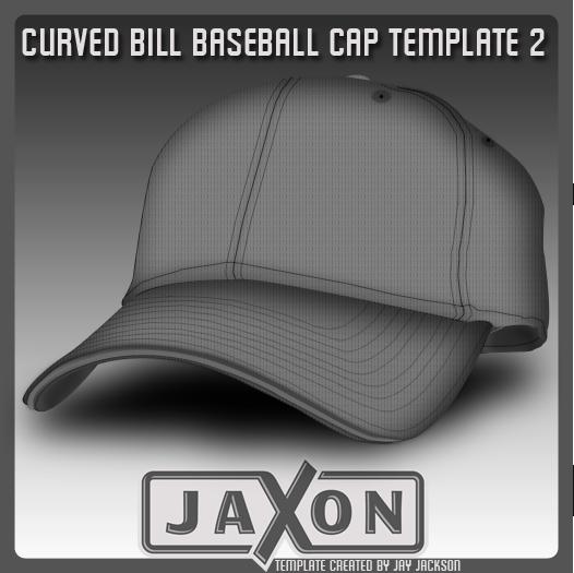 Curved Bill Baseball Template by JayJaxon