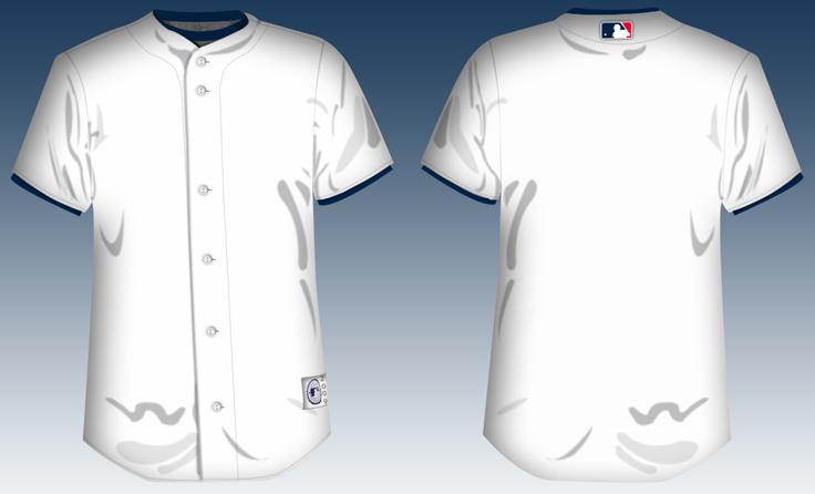 baseball jersey template by jayjaxon