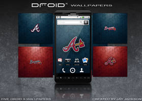 Braves Droid x Wallpapers by JayJaxon