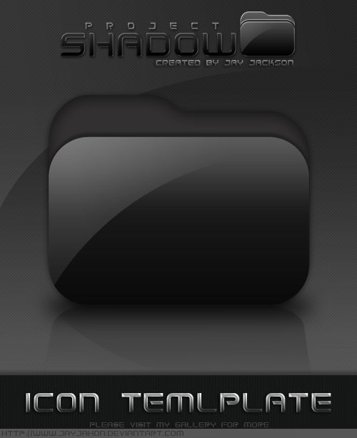 Shadow Icon Template