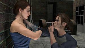 Possessed Ellie Makes Jill One Of Them
