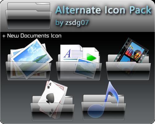 Alternate Icons by zsdg07
