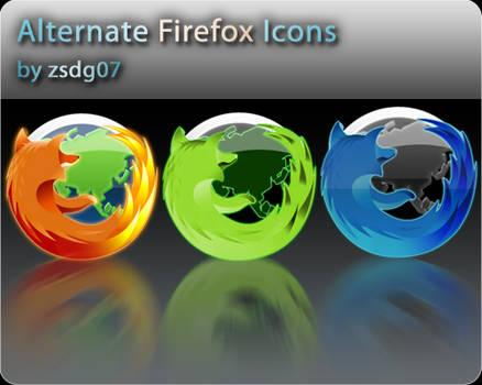 Alternate Firefox Icons