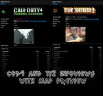 Extended Infoview for COD4+TF2