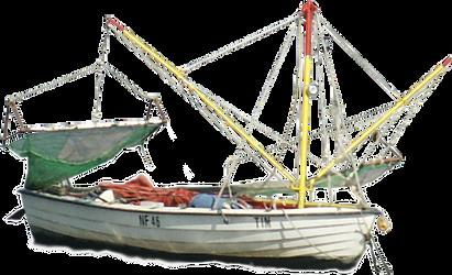 Pre-Cut fisher boat