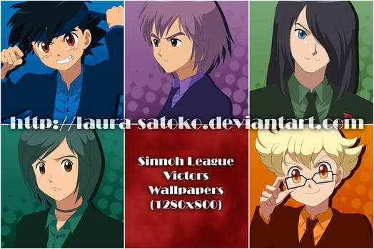 Sinnoh League Victors Wallpapers by LauraPaladiknight