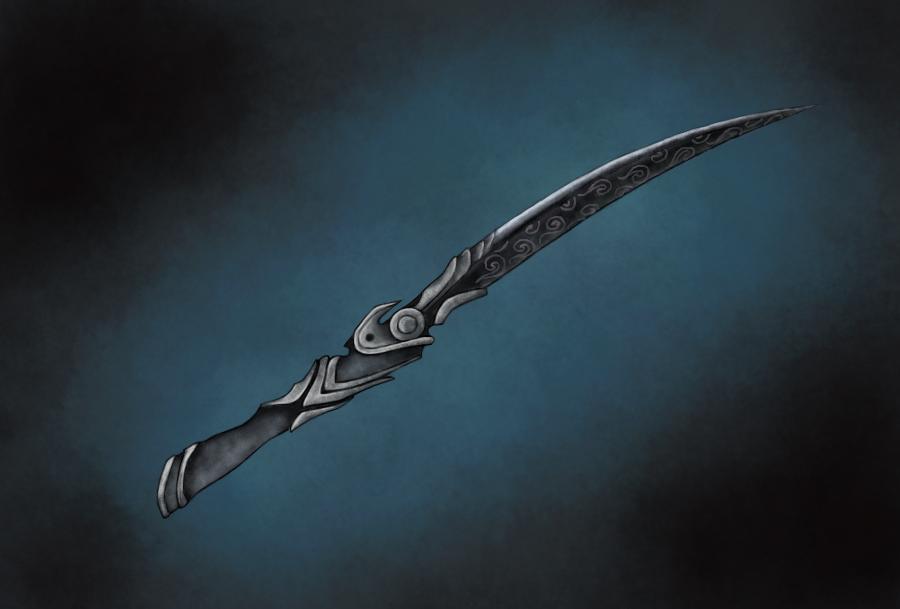 ebony sword skyrim - photo #4