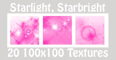 Starlight Textures - Pink by suspicion-bells