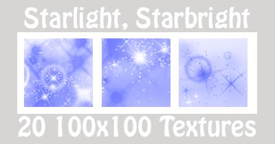 Starlight Textures - Blue by suspicion-bells