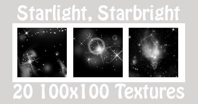 Starlight Textures - Black by suspicion-bells