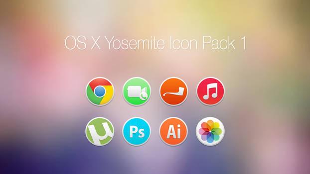 OS X Yosemite Icon Pack 1 by OneOfAyyKind