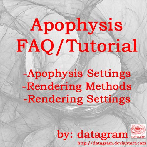 Apophysis 2.02 FAQ-Tutorial by datagram