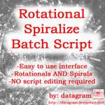 Rotational Spiralize Script