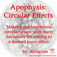 Apophysis Circular Effects by datagram