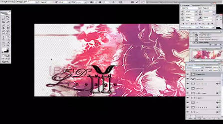 Lineage II in Photoshop Video