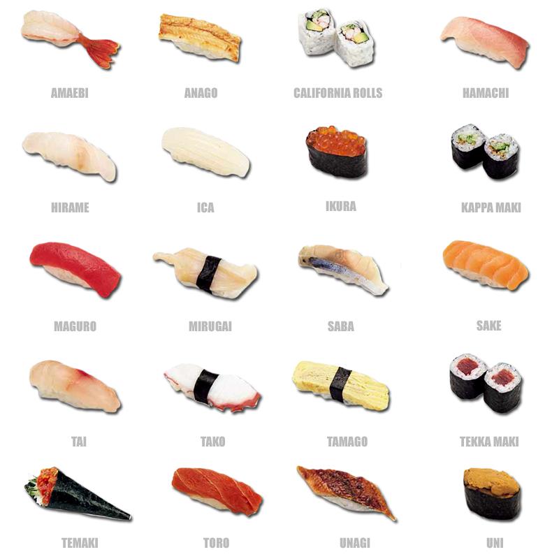 Sushi Icon Set by liquidshadow