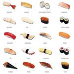 Sushi Icon Set