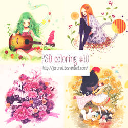 PSD coloring #10 by JErurus