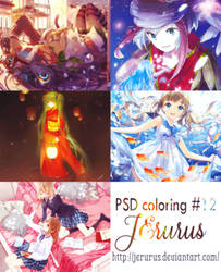 PSD coloring #12 by JErurus