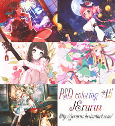 PSD coloring #15 by JErurus