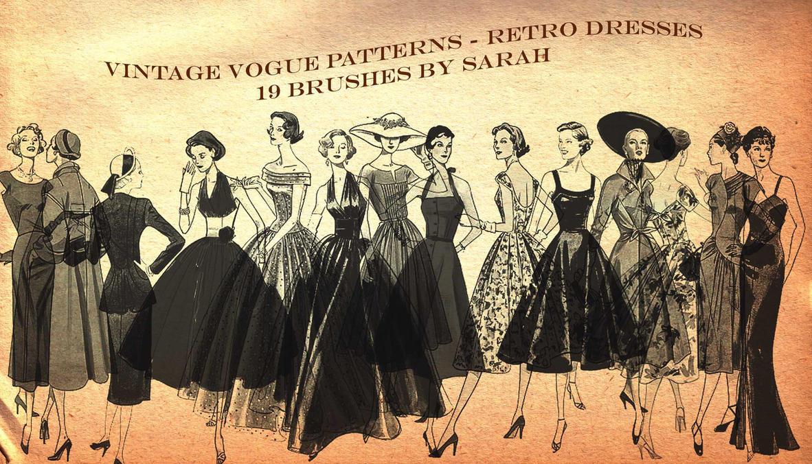 Vintage Vogue Brushes by Yasha631