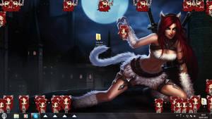 Kitty Kat Katarina Shimeji (Free2Use)