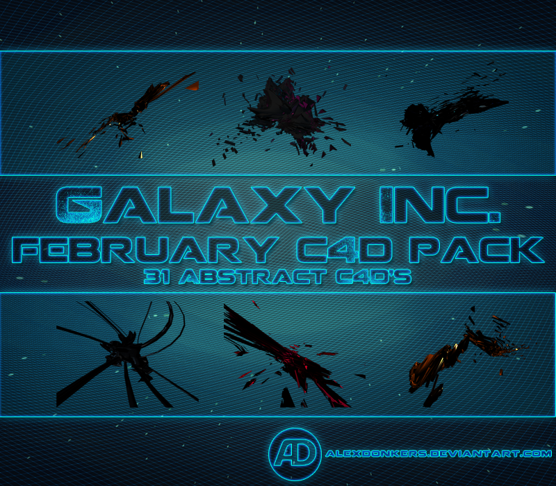 February C4D Pack by AlexDonkers