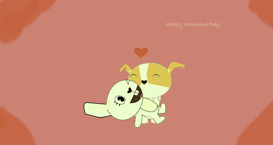 Happy Late Valentine Day, PigXChloe! by PigXChloe