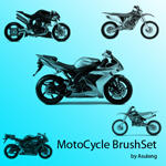 motocycle brushset by asuleng