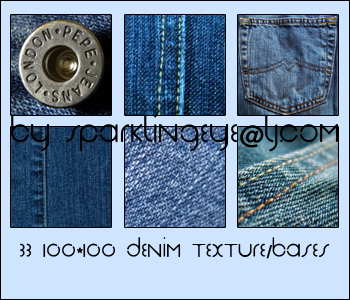 Denim Textures by sparkling-eye