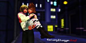 Rokunami: I'll carry you