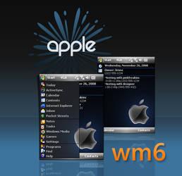 VGA WM6 Apple Theme by pinkfreakinc