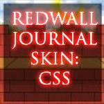 Redwall Journal Skin by Acorntail