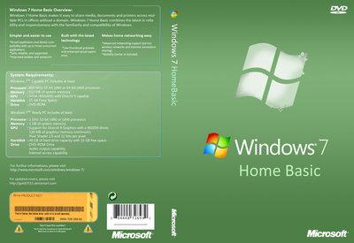 Windows 7 Home Basic Box Cover by goldi7515 on DeviantArt