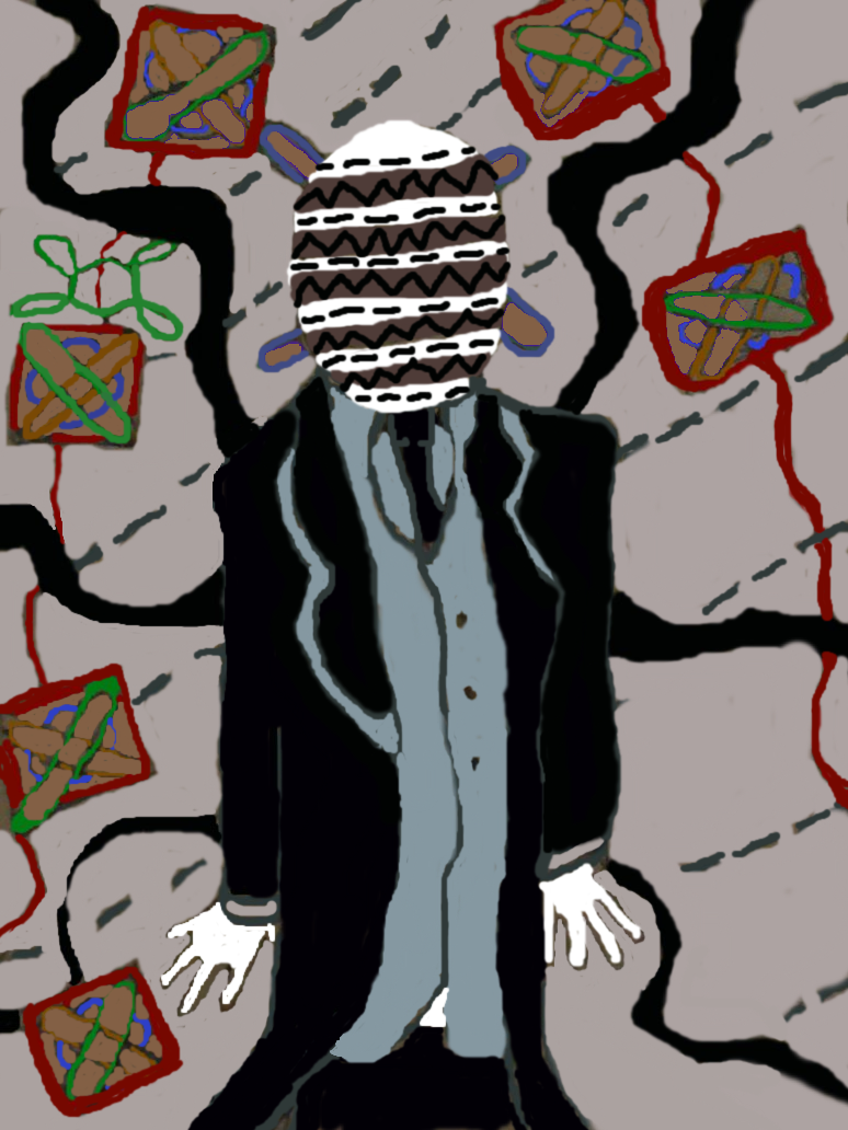 Untitled Drawing Slenderman fan by BunnysteeleStephanie