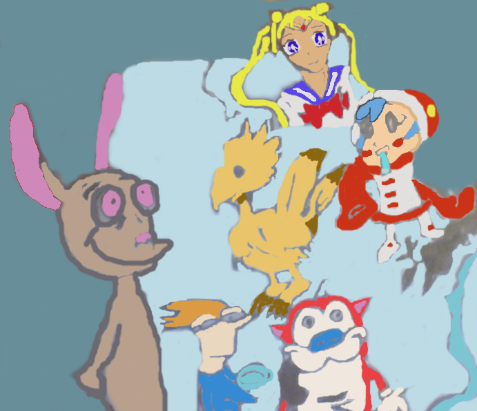 My Fave Characters by BunnysteeleStephanie