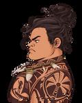 Maui - Serious Hair Bun [Moana]