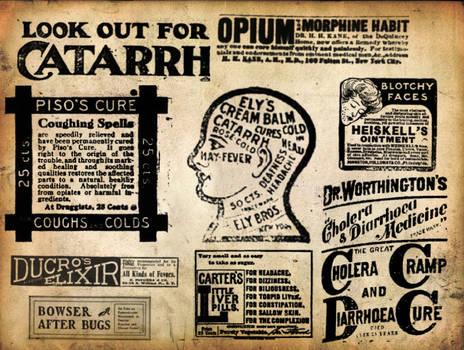 Vintage Medicine Ad