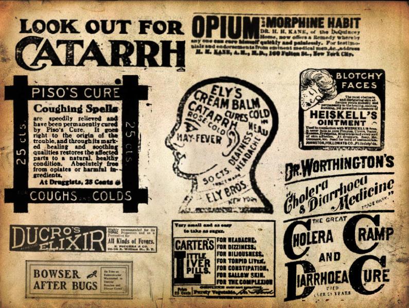 Vintage Medicine Ad by idperson