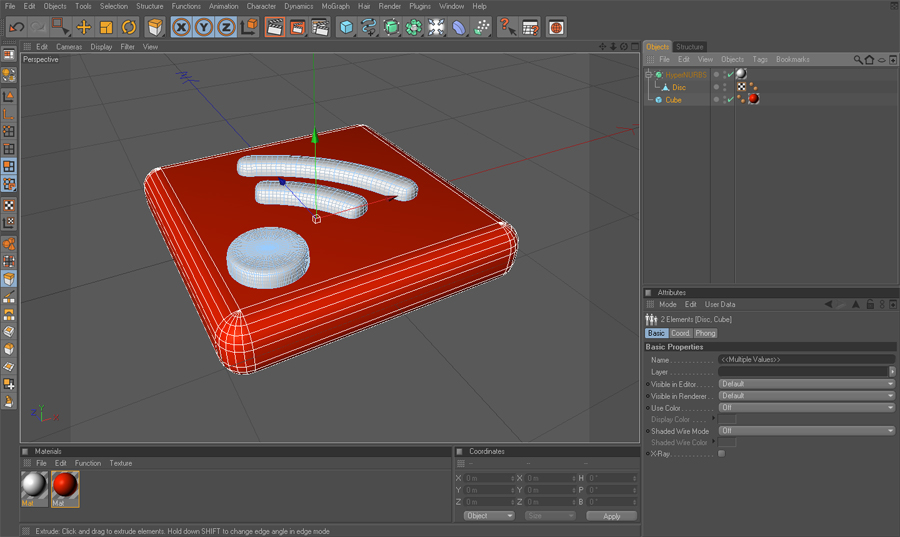 rss icon on c4d how to by Neviral