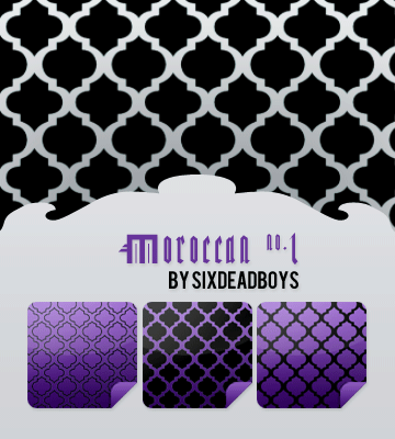 Moroccan Patterns no. 1 by sixdeadboys